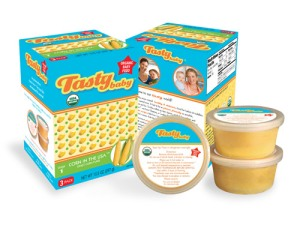 Tastybaby - 100% certified organic baby food