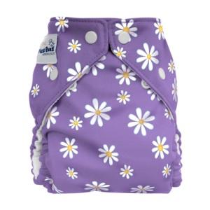 FuzziBunz Diaper - Dasies Lavender