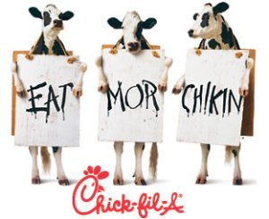 free chic fil a friday cow