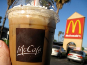free mcdonald's coffee mocha