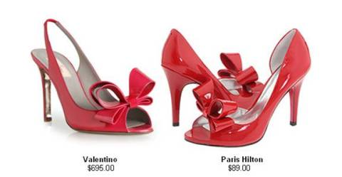 paris hilton valentino shoes