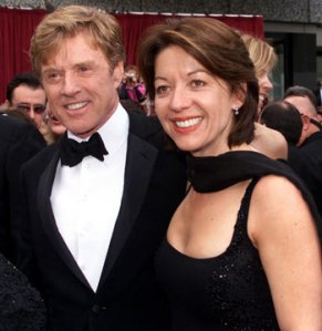 Sibylle Szaggars marries robert redford