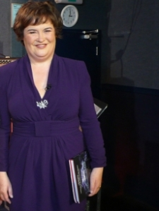 susan boyle makeover new look
