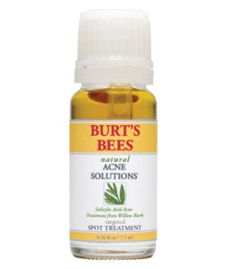 burts bees natural acne solution spot treatment free