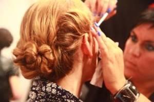 hair twists bun